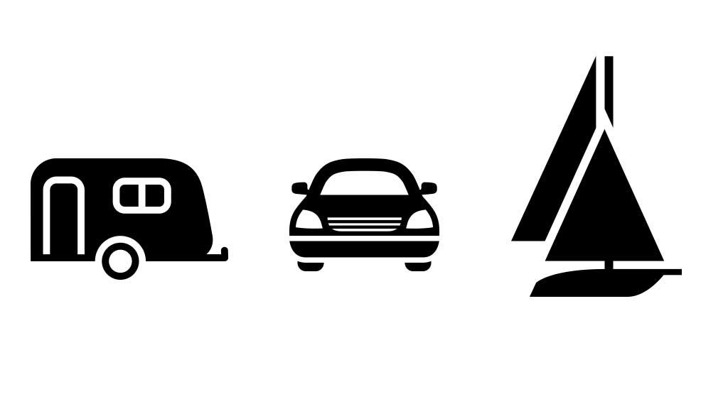 Opbevaring af bil, båd og campingvogn