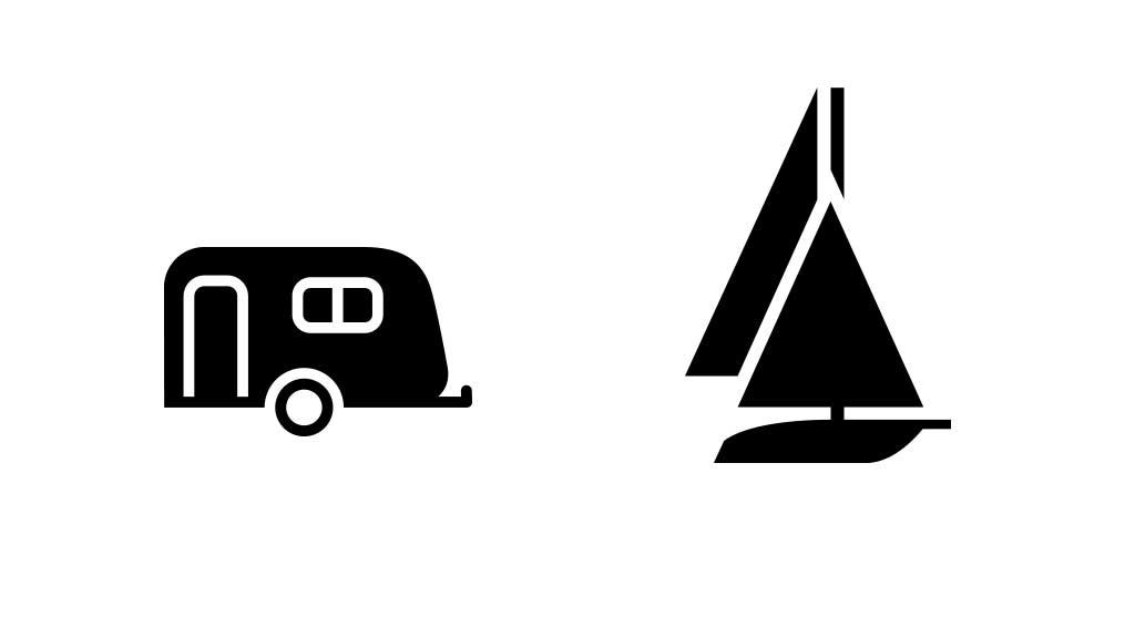 Opbevaring af båd og campingvogn